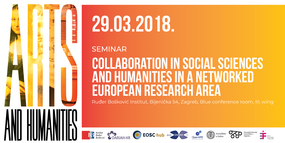 Collaboration in social sciences and humanities in a networked European research area