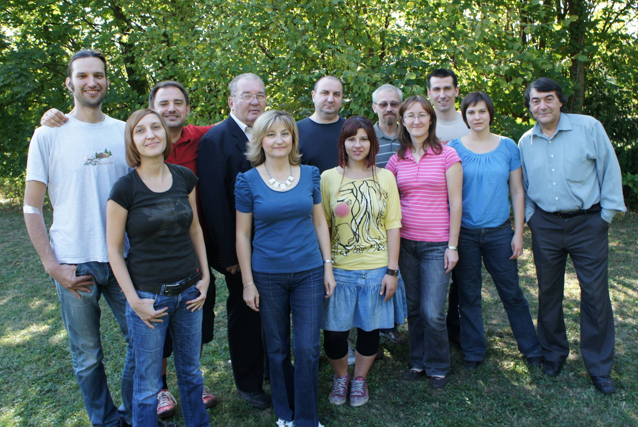 Employees of the Laboratory for Informatics and Environmental Modellling