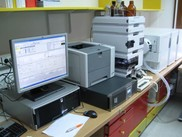 HPLC Agilen 1200 Series and MS Agilent 6410
