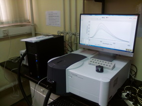 Agilent Eclipse with the temperature control