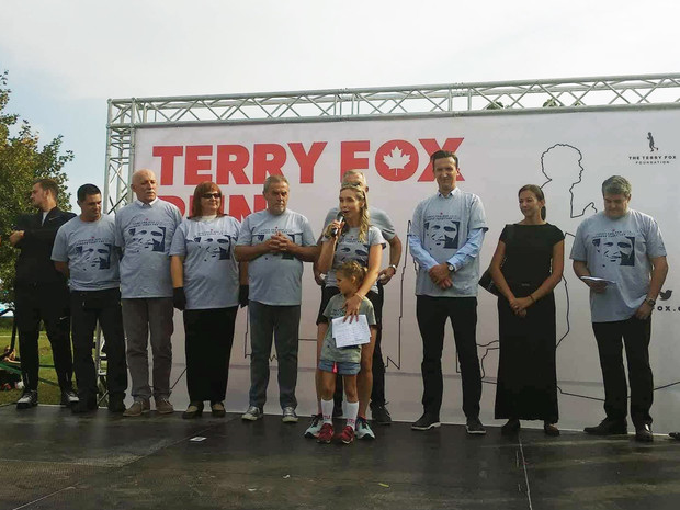 Thousands Take Part in Terry Fox Run in Zagreb