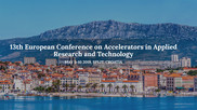 13th European Conference on Accelerators in Applied Research and Technology