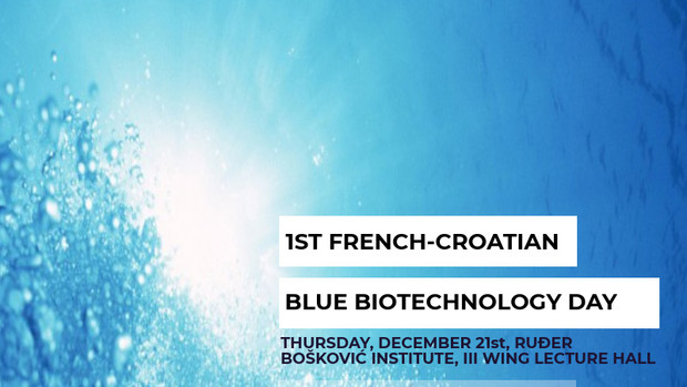 1st French-Croatian Blue Biotechnology Day