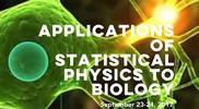 Applications of Statistical Physics to Biology