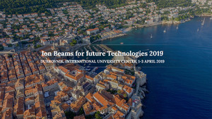 Ion Beams for Future Technologies 2019